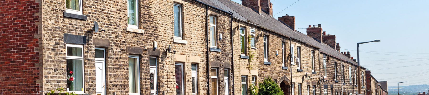 Typical Terraced Houses England